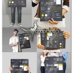 تصاویر پیش نمایش پوستر و تراکت تبلیغاتی Flyer Poster Mock-Ups