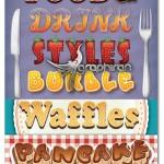 استایل های ایلوستریتور نوشیدنی و میوه ها Food & Drink Styles