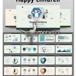 دانلود قالب پاورپوینت کودک آماده ۱۲۰ اسلاید زیبا – شماره ۵۷