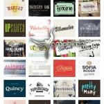 مجموعه ۷۲ فونت انگلیسی حرفه ای جدید Envato Indie Font Bundle