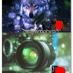 اکشن فتوشاپ گرد و غبار نورانی LensDust Photoshop Action