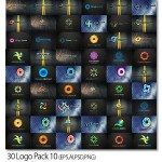 دانلود مجموعه ۳۰ لوگوی لایه باز با موضوعات و فرمت های متنوع