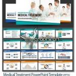 دانلود قالب پاورپوینت پزشکی و پرستاری در سه رنگ – شماره ۵۶