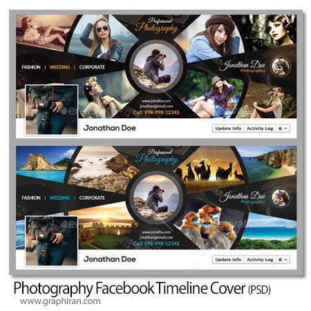 Photography Facebook Timeline Cover کاور تایم لاین فیس بوک عکاسی Photography Facebook Timeline Cover