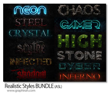 Realistic Styles BUNDLE
