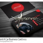 کارت ویزیت اجاره یا نمایشگاه ماشین PSD لایه باز – شماره ۳۳۱
