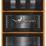 دانلود طرح لایه باز چسب نواری شفاف Transparent Tape