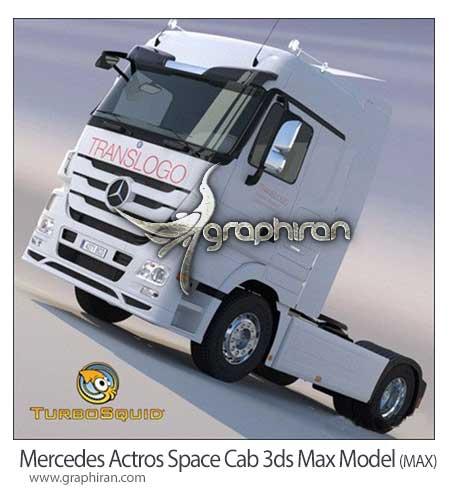 مدل آماده تری دی مکس کامیون