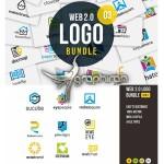 مجموعه لوگوهای لایه باز طراحی وب Web 2.0 Logo Bundle Vol. 03
