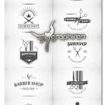 دانلود مجموعه تصاویر لوگوی آرایشگاه Barbershop Logo Vector