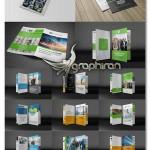 دانلود مجموعه بروشورهای لایه باز Bifold Business Brochure Bundle