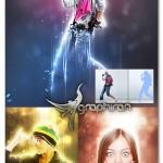 اکشن جدید فتوشاپ افکت انتشار نور Lightum Photoshop Action