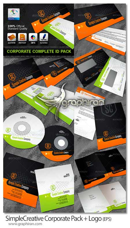 SimpleCreative Business Corporate ID Pack + Logo