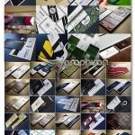 مجموعه ۱۰۰ طرح کارت ویزیت آماده Massive Business Card Bundle