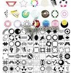 ۱۰۴ شکل طراحی لوگو به صورت شیپ فتوشاپ Logo Photoshop Shapes