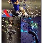 اکشن فتوشاپ ساخت افکت شیشه شکسته Broken Glass Photoshop Action