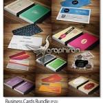 دانلود مجموعه کارت ویزیت های PSD لایه باز و جدید – شماره ۳۴۰