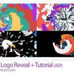 پروژه افترافکت نمایش لوگو با ترکیب رنگ ها Colorful Logo Reveal