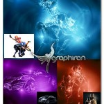 اکشن فتوشاپ افکت نور ملایم Flare Soft Photoshop Action V2