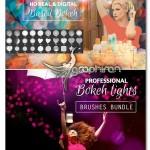 براش فتوشاپ نور بوکه حرفه ای Professional Bokeh Lights Brush