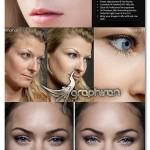 ۵۰ ابزار برتر روتوش پوست لایت روم Most Advanced Skin Retouching