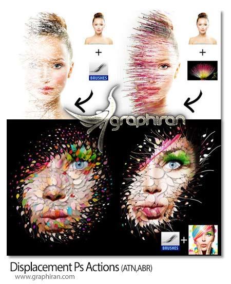 اکشن فتوشاپ ترکیب خلاقانه عکس ها