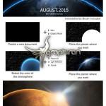 اکشن فتوشاپ ساخت صحنه فضایی Interstellarize Cosmic Scene Action