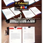 8 Letterhead Template 150x150 دانلود طرح مدرن سربرگ اداری و همچنین شرکت فرمت EPS، AI و همچنین DOC