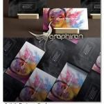 طرح PSD لایه باز کارت ویزیت هنرمندانه و خلاقانه – شماره ۳۶۲