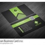 دانلود طرح کارت ویزیت حرفه ای با طراحی زیبا و کد QR – شماره ۳۶۱