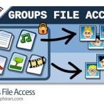 افزونه وردپرس اجازه دانلود فایل به گروه کاربران Groups File Access v1.5.5