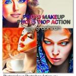 اکشن فتوشاپ میک آپ خودکار تصاویر Photomakeup Photoshop Action