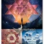 اکشن فتوشاپ ساخت شکل های هندسی Sacred Geometry Photoshop Actions