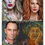 اکشن فتوشاپ ایجاد افکت نقاشی سریع Speed Paint Photoshop Action