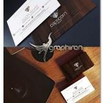 دانلود طرح کارت ویزیت چوبی دو رو PSD لایه باز – شماره ۳۵۱