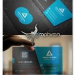 فایل PSD کارت ویزیت لایه باز با طراحی مدرن – شماره ۳۶۰