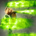 اکشن فتوشاپ افکت انرژی الکتریکی Power 2 Photoshop Action