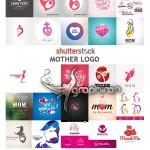 دانلود مجموعه لوگو و تصاویر وکتور موضوع مادر از ShutterStock