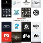 دانلود مجموعه ۲۵ لوگوی عکاسی وکتور لایه باز از ShutterStock