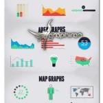 پروژه افتر افکت کیت ۱۰۰ المان اینفوگرافیک Infographics Kit
