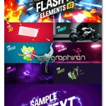 مجموعه عظیم ۱۴۰ افکت فلش برای افتر افکت Flash FX Elements