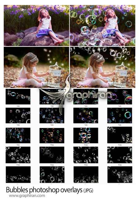 مجموعه تصاویر پوششی حباب آب