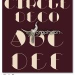 دانلود فونت انگلیسی Circle Deco با طراحی دایره ای خاص