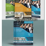 دانلود قالب تراکت تبلیغاتی تجاری و شرکتی PSD لایه باز