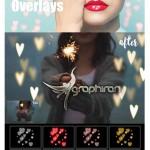 دانلود مجموعه تصویر پوششی قلب و بوکه Hearts Overlays