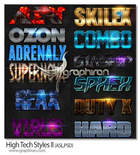 High Tech Styles II