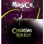دانلود فونت انگلیسی جادویی به سبک فانتزی Magico Font