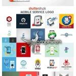 مجموعه تصاویر لوگوی وکتور تعمیرات موبایل از ShutterStock