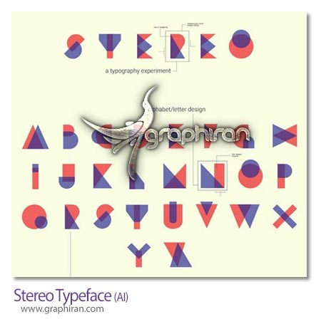 Stereo Typeface