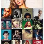 مجموعه عظیم ۱۰۰۰ اکشن افکت عکس فتوشاپ ۱K PS Actions